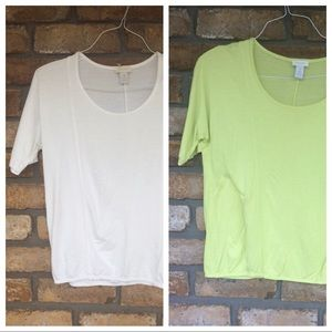 2 Chico's Tops - NEW LISTING